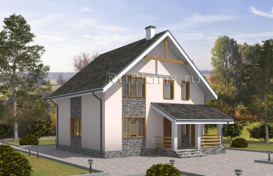 Дом с мансардой Rg5045