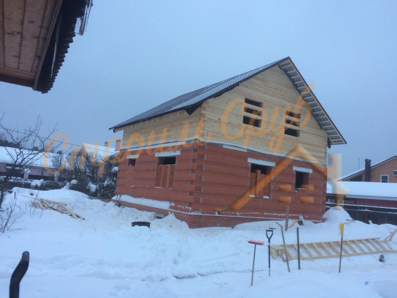 Завершено строительство дома в Орехово-зуевском районе, МО